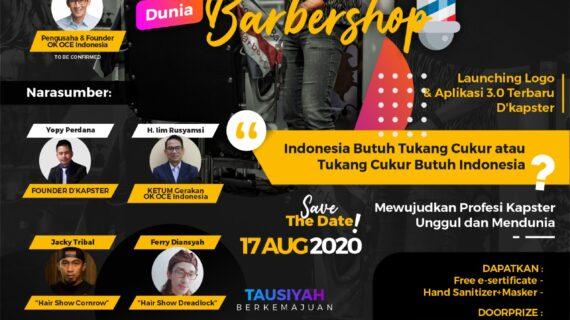 Seminar Barbershop – Indonesia Butuh Tukang Cukur atau Tukang Cukur Butuh Indonesia?